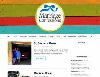marriageconfessions.com screenshot