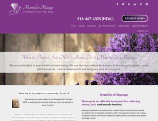 marriedtomassage.com screenshot