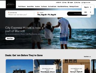 marriott.com.au screenshot