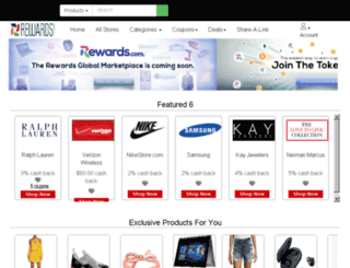 marriott.rewards.com screenshot