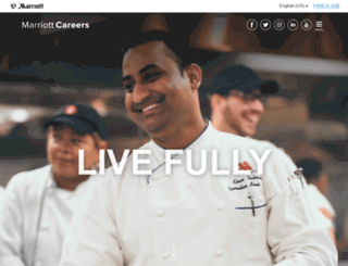 marriottcareers.net screenshot