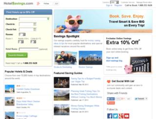 marriotthotels.hotelsavings.com screenshot