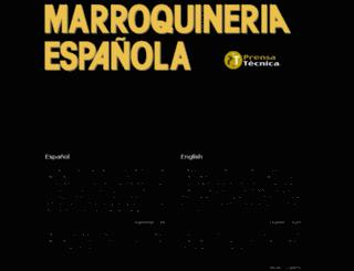 marroquineriaespanola.com screenshot