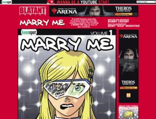marryme.keenspot.com screenshot