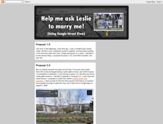 marrymeleslie.com screenshot