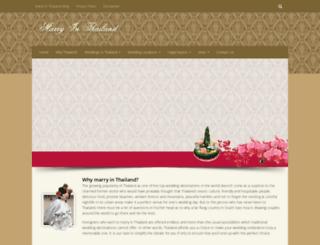 marrythailand.com screenshot