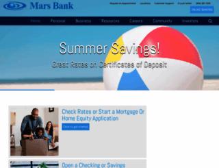 marsbank.com screenshot