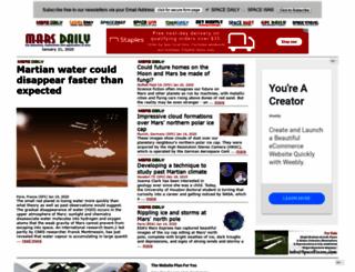 marsdaily.com screenshot