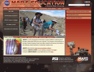 marsed.asu.edu screenshot