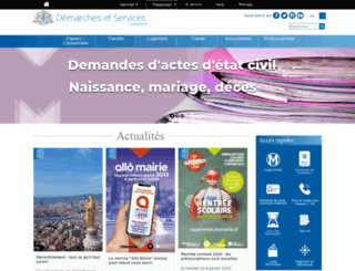 marseilleservices.fr screenshot