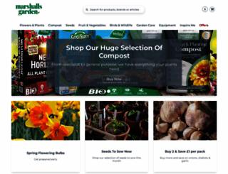 marshalls-seeds.co.uk screenshot