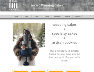 marshcakes.com screenshot