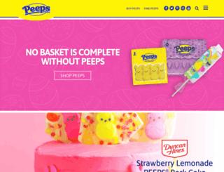 marshmallowpeeps.com screenshot