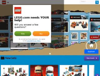 marsmission.lego.com screenshot