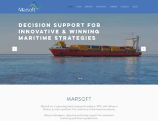 marsoft.com screenshot