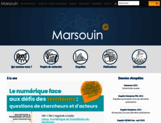marsouin.org screenshot