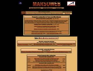 marsoweb.nas.nasa.gov screenshot
