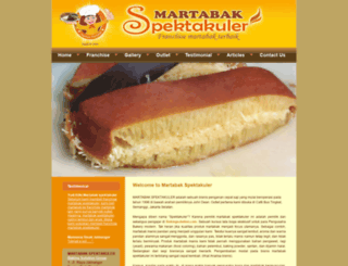 martabakspektakuler.com screenshot