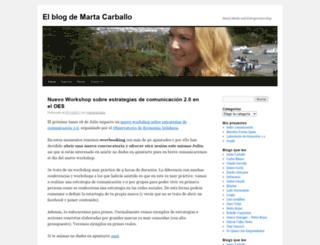 martacarballo.wordpress.com screenshot