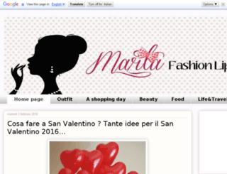 martafashionlipstick.com screenshot