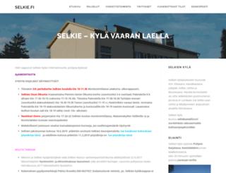martat.selkie.fi screenshot