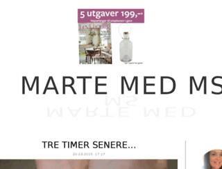 martemedms.blogg.no screenshot