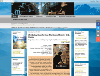 marthasbookshelf.blogspot.com screenshot