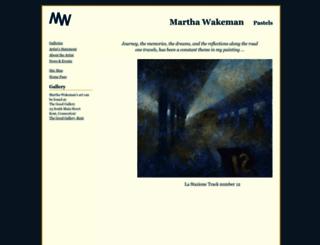 marthawakeman.com screenshot