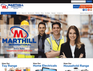 marthill.co.uk screenshot