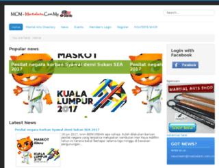 martialarts.com.my screenshot