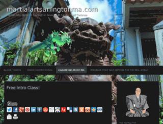 martialartsarlingtonma.com screenshot