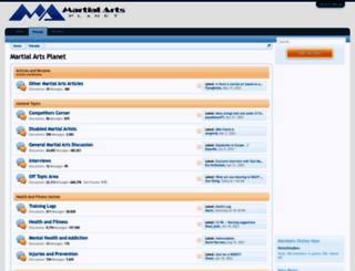 martialartsplanet.com screenshot