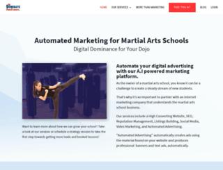 martialartswebsites.com screenshot