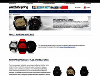 martianwatches.com screenshot