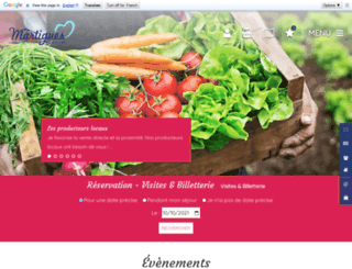 martigues-tourisme.com screenshot