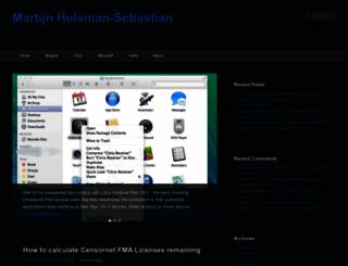 martijnhs.com screenshot
