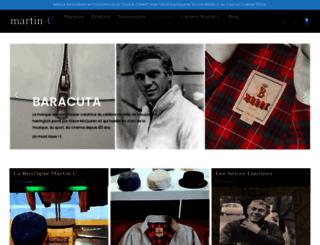 martin-c.fr screenshot