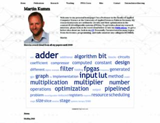 martin-kumm.de screenshot
