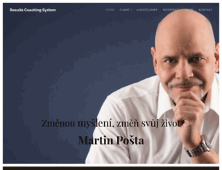 martin-posta-kouc.cz screenshot