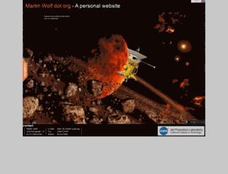 martin-wolf.org screenshot