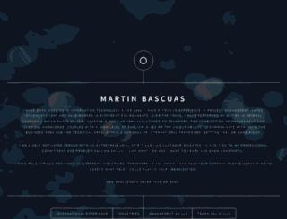 martinbascuas.com screenshot