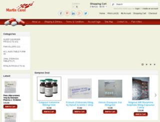 martincarol.net screenshot