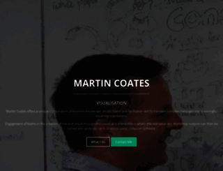 martincoates.com screenshot