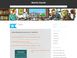 martindanes.com screenshot