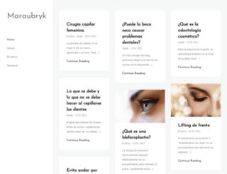 martineaubry.fr screenshot