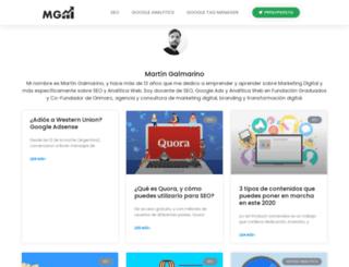 martingalmarino.com.ar screenshot