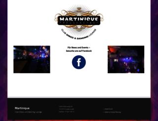 martinique.de screenshot