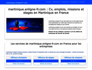 martinique.enligne-fr.com screenshot
