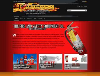 martinmackfire.com screenshot