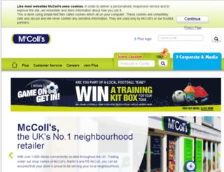martinmccoll.co.uk screenshot